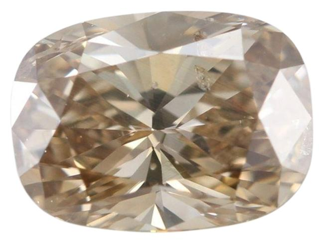 Item - Brown Oval Loose Diamond 0.73 Ct Natural Si2 Igl C418