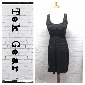 Tek Gear short dress Black/Gray on Tradesy