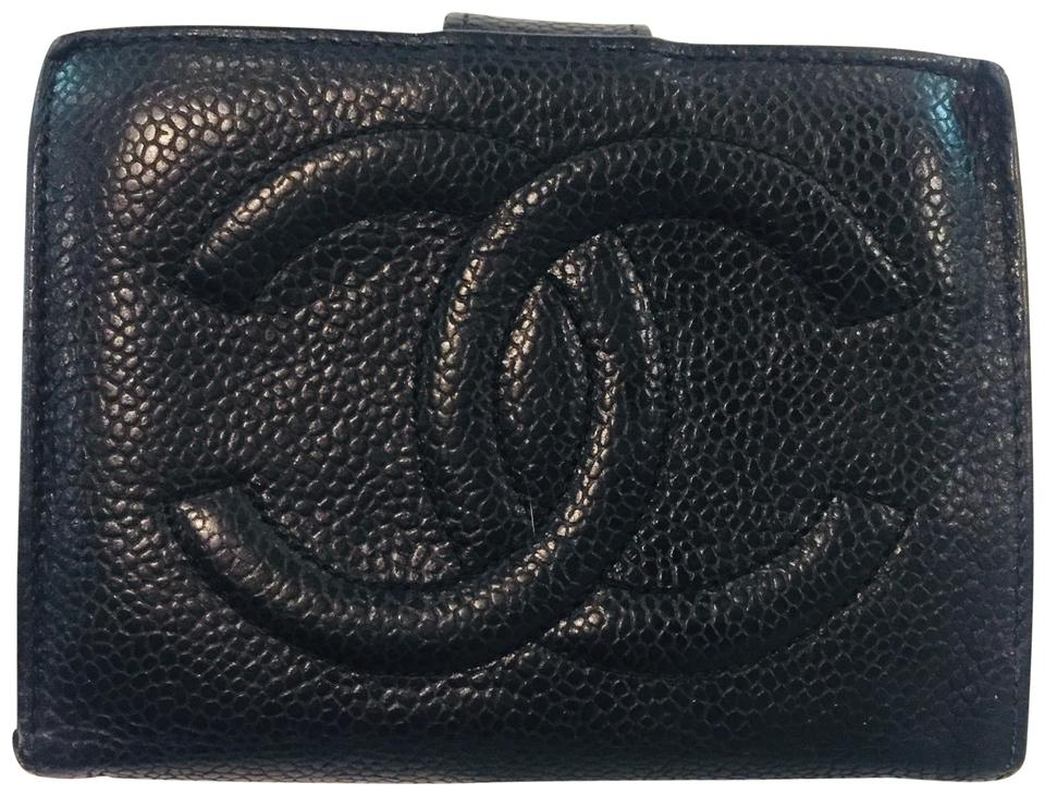 ac9c7474546d09 Chanel CHANEL Cambon Caviar Skin Wallet Image 0 ...