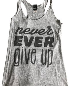 Fifth Sun fifth sun never ever give up tank top