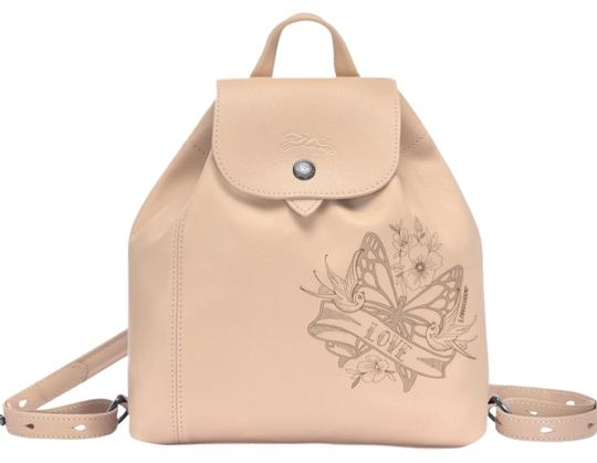 Preload https://img-static.tradesy.com/item/25148395/longchamp-le-pliage-cuir-tattoo-nude-beige-leather-backpack-0-1-540-540.jpg