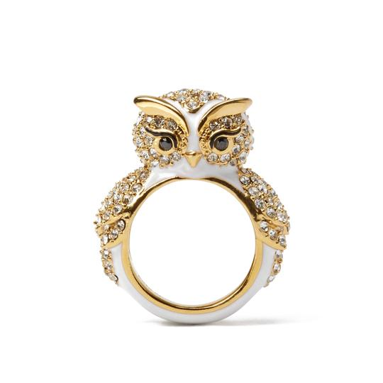 Kate Spade BRAND NEW Kate Spade Star Bright Wise Owl Cocktail Ring - Sz 7 Image 1