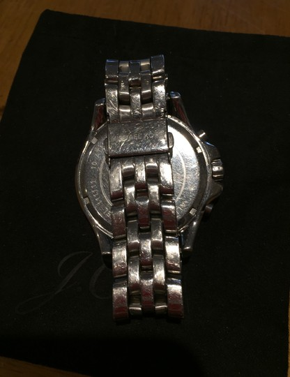 Michael Kors Ladies Silver Chronograph Watch Image 4