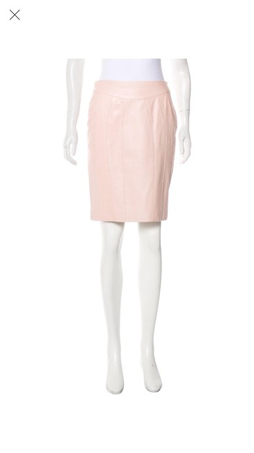 Preload https://img-static.tradesy.com/item/25148589/yigal-azrouel-blush-leather-xs-skirt-size-2-xs-26-0-0-650-650.jpg