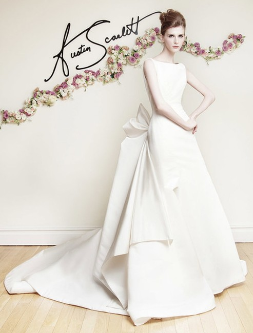 Item - Ivory Silk Faille Victoire As67 Formal Wedding Dress Size 10 (M)