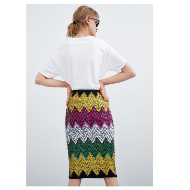 Zara Skirt Multicolored Image 5