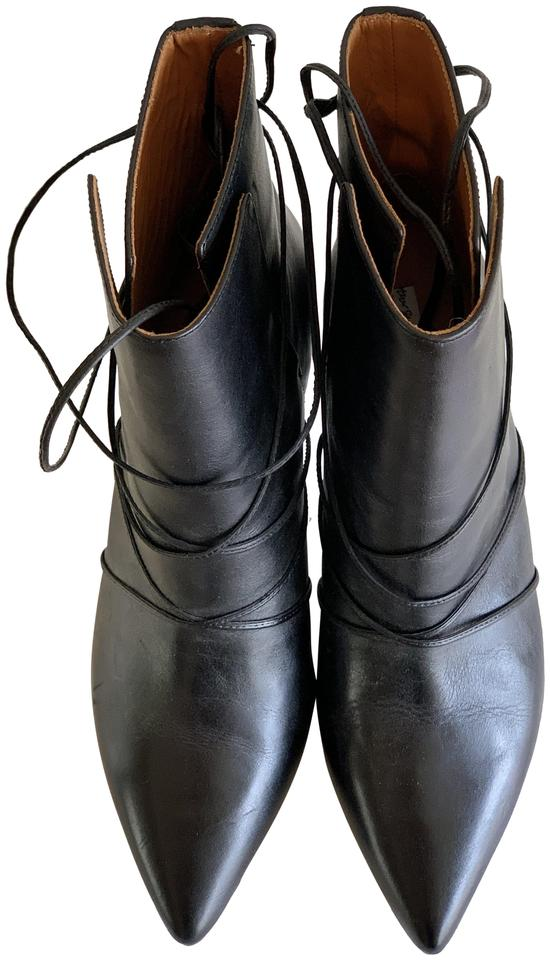 8348ff492 & Other Stories Black Stiletto Lace Up Boots/Booties Size EU 40 ...