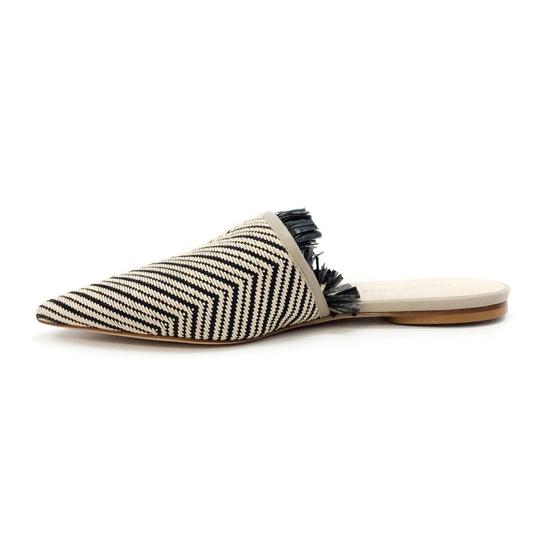 Fabiana Filippi Black / Natural Mules Image 2