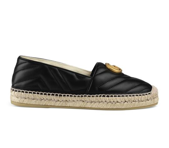 Preload https://img-static.tradesy.com/item/25148859/gucci-black-gg-leather-pilar-star-espadrille-95-platforms-size-eu-395-approx-us-95-regular-m-b-0-0-540-540.jpg