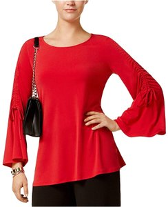 Alfani Bell Office Top red