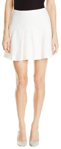BCBGeneration Fit And Flare Mini Tennis Pleated Mini Skirt White