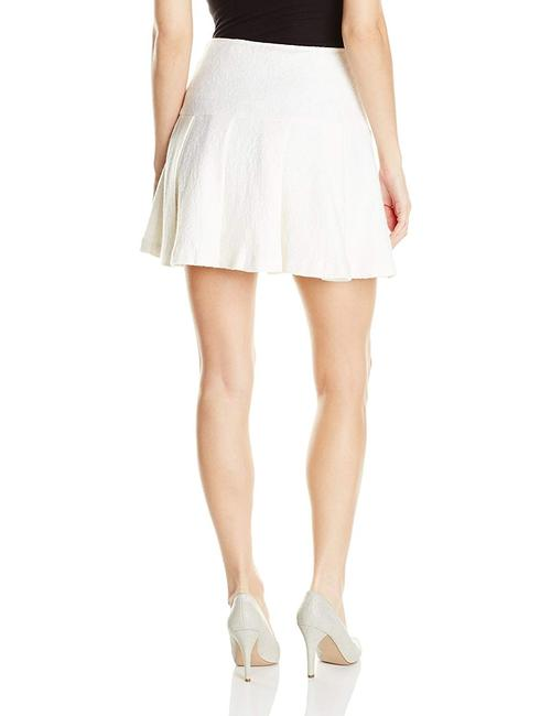 BCBGeneration Fit And Flare Mini Tennis Pleated Mini Skirt White Image 1