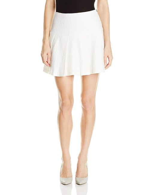 BCBGeneration Fit And Flare Mini Tennis Pleated Mini Skirt White Image 2