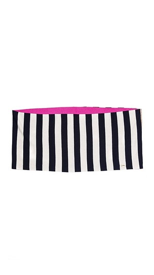 Juicy Couture Juicy Couture Stripe It Infinity Scarf Image 1