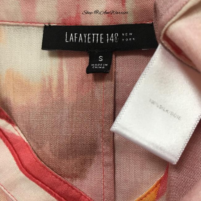 Lafayette 148 New York Top Pink, white Image 10