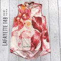 Lafayette 148 New York Top Pink, white Image 6