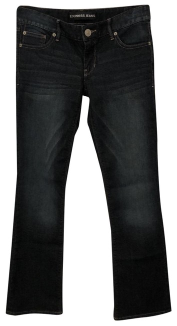 Preload https://img-static.tradesy.com/item/25149289/express-dark-rinse-zelda-barely-boot-cut-jeans-size-0-xs-25-0-1-650-650.jpg