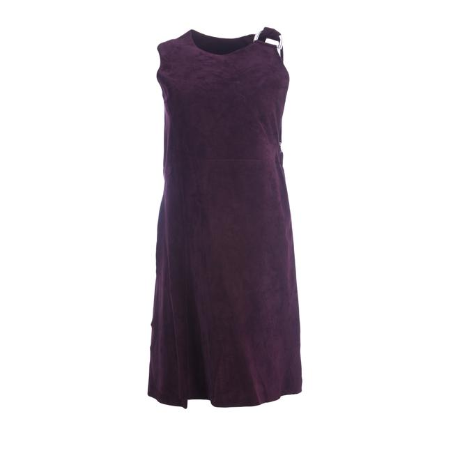 Preload https://img-static.tradesy.com/item/25149381/max-mara-bordeaux-cele-suede-open-buckle-mid-length-cocktail-dress-size-4-s-0-0-650-650.jpg