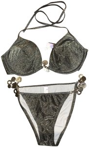 de23a13f42 Women's Gold Victoria's Secret Full Bikinis - Up to 90% off at Tradesy