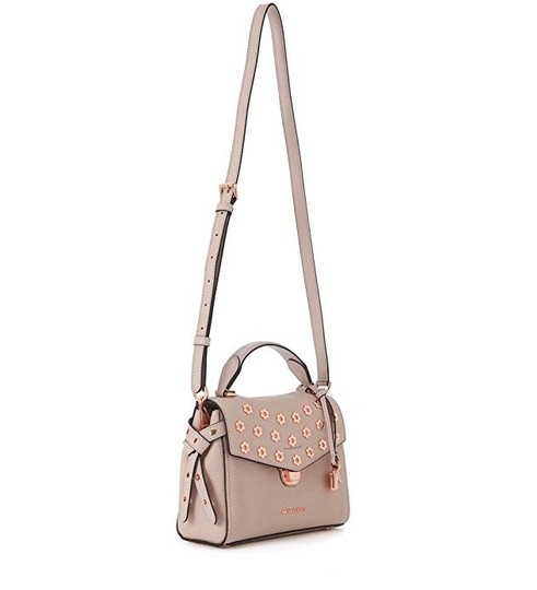 Michael Kors Leather Satchel in Soft pink Image 1