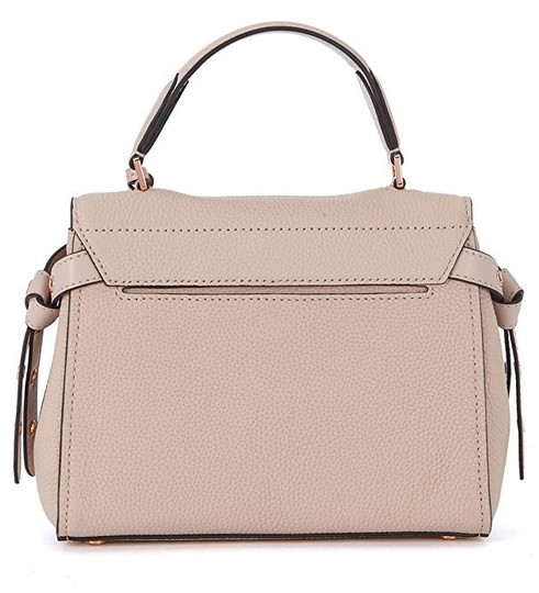 Michael Kors Leather Satchel in Soft pink Image 3