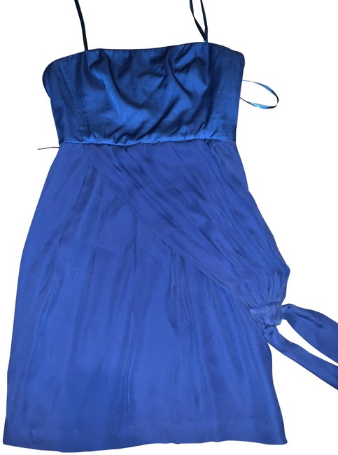 Preload https://img-static.tradesy.com/item/25149444/bcbgmaxazria-blue-women-short-night-out-dress-size-6-s-0-3-650-650.jpg