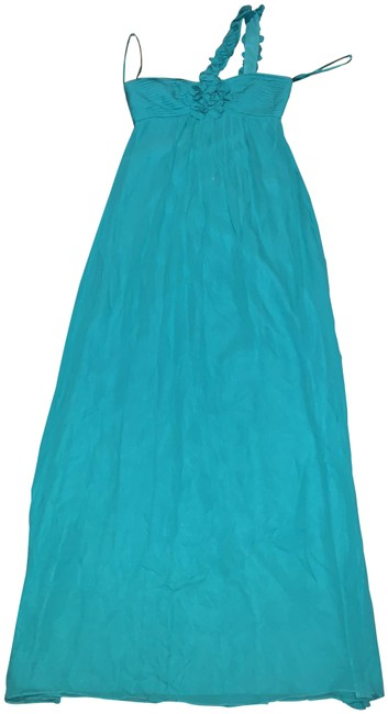 Item - Green Long Cocktail Dress Size 0 (XS)