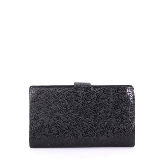 Chanel Prada Tote Leather black Clutch Image 3