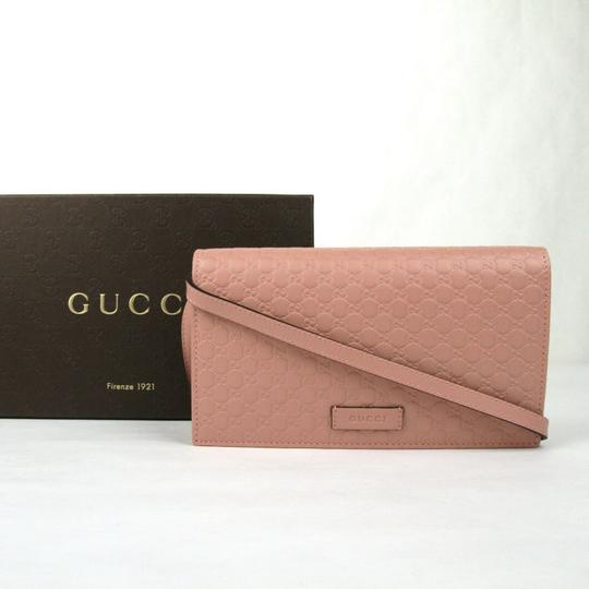 Gucci Micro GG Guccissima Leather Crossbody Wallet Bag 466507 5806 Image 1