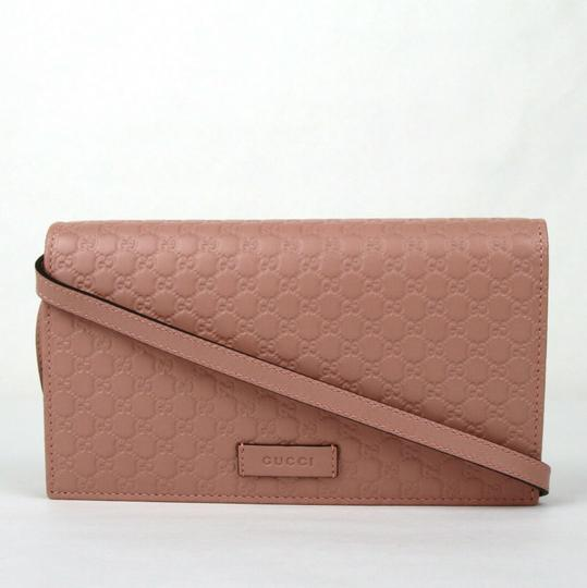 Gucci Micro GG Guccissima Leather Crossbody Wallet Bag 466507 5806 Image 2