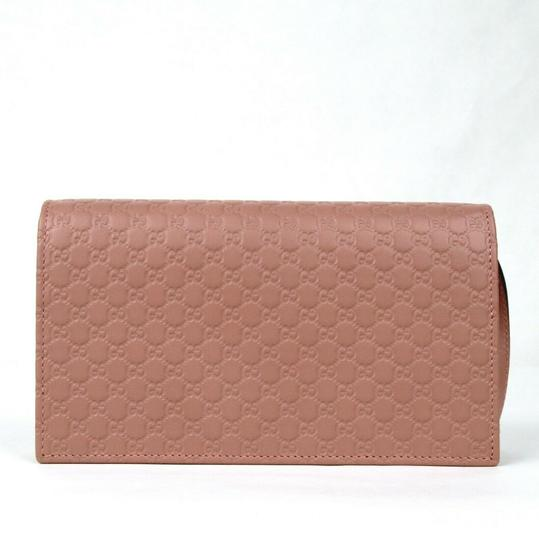 Gucci Micro GG Guccissima Leather Crossbody Wallet Bag 466507 5806 Image 3