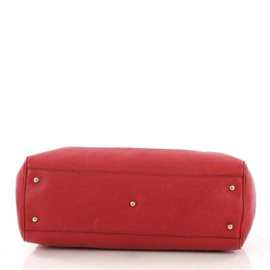 Gucci Leather Tote in red Image 4