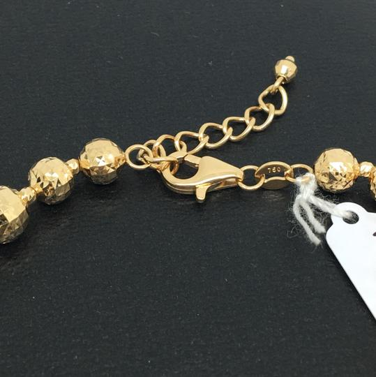 Other 18K Yellow Gold Diamond Cut Balls Bracelet Image 3