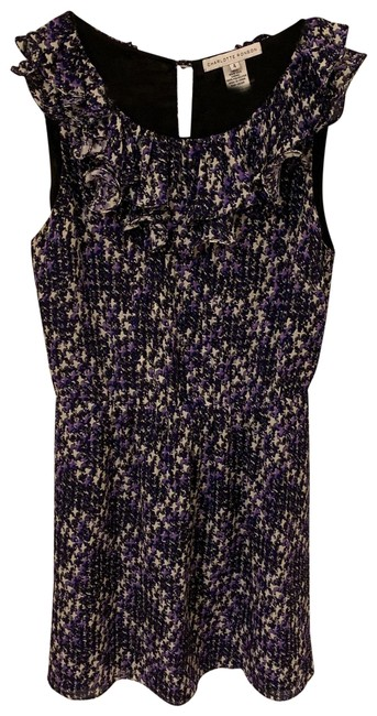 Preload https://img-static.tradesy.com/item/25149563/charlotte-ronson-black-purple-floral-mini-short-night-out-dress-size-4-s-0-1-650-650.jpg