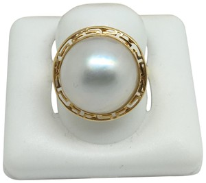 other 14K Yellow Gold Pearl Ring