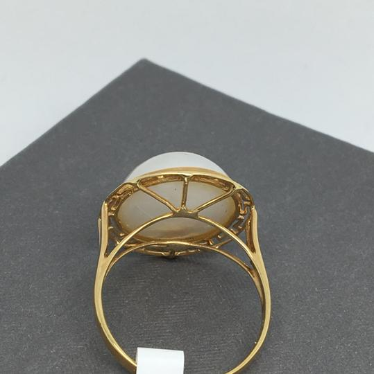 other 14K Yellow Gold Pearl Ring Image 3