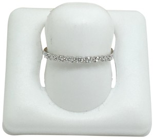 other 14K White Gold Natural Diamond Thin Band/ Stackable Ring