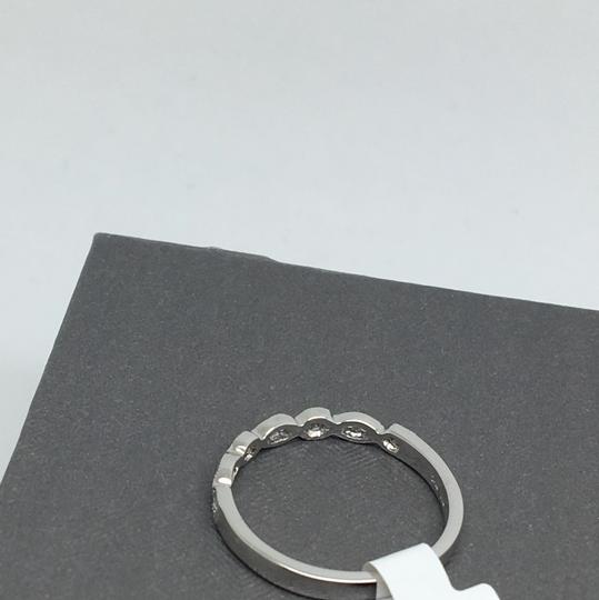 other 14K White Gold Natural Genuine Diamond Band Image 3