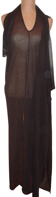 Preload https://img-static.tradesy.com/item/25149622/brown-pacini-fabulous-viscoselinen-stylish-cover-up-ponchocape-size-os-one-size-0-2-650-650.jpg