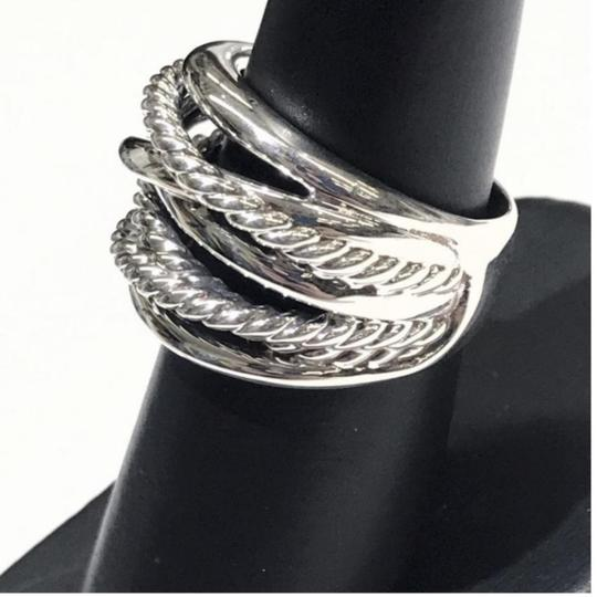 David Yurman GORGEOUS!! David Yurman Wide Crossover Ring Image 2