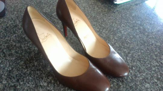 Christian Louboutin Sexy Classic Quality brown Pumps Image 2