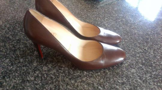 Christian Louboutin Sexy Classic Quality brown Pumps Image 3