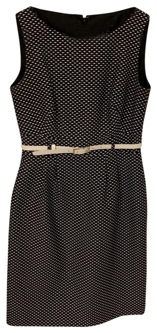 Preload https://img-static.tradesy.com/item/25149759/tahari-black-and-white-asl-and-pindot-belted-sheath-mid-length-workoffice-dress-size-4-s-0-1-650-650.jpg
