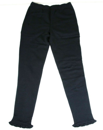 Gucci Navy Jersey Cotton Pant with Ruffled Hem 12 Years 435063 4134 Groomsman Gift Image 2