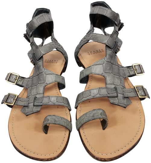 Preload https://img-static.tradesy.com/item/25149839/stuart-weitzman-gray-gladitor-sandals-size-us-7-regular-m-b-0-1-540-540.jpg