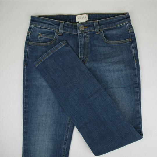 Gucci Blue Children's Unisex Medium Wash Denim Pant 10 Years 457176 4056 Groomsman Gift Image 2