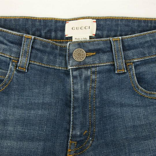 Gucci Blue Children's Unisex Medium Wash Denim Pant 10 Years 457176 4056 Groomsman Gift Image 3