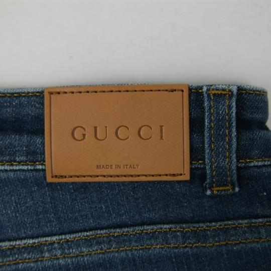 Gucci Blue Children's Unisex Medium Wash Denim Pant 10 Years 457176 4056 Groomsman Gift Image 4