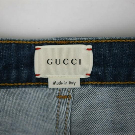 Gucci Blue Children's Unisex Medium Wash Denim Pant 10 Years 457176 4056 Groomsman Gift Image 5