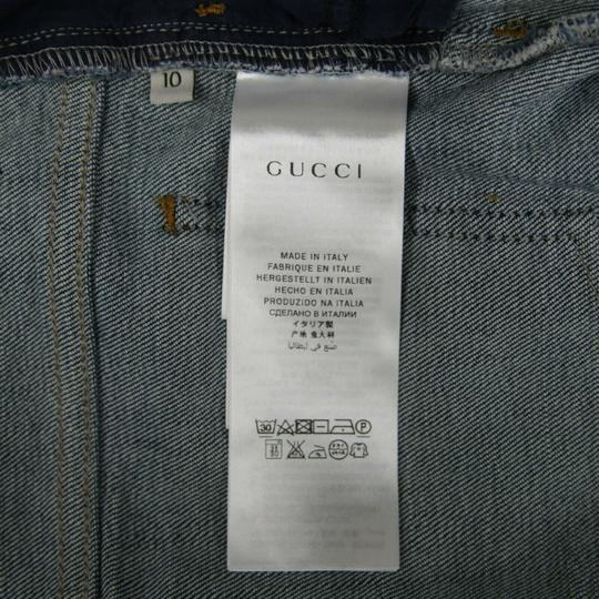 Gucci Blue Children's Unisex Medium Wash Denim Pant 10 Years 457176 4056 Groomsman Gift Image 7